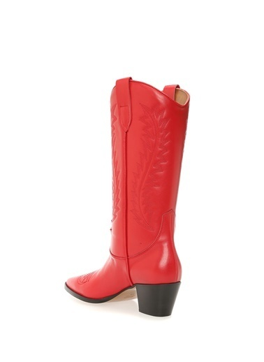 Paris Çizme Kırmızı